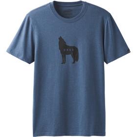 Prana Wolf Pack Journeyman T-shirt Homme, denim heather